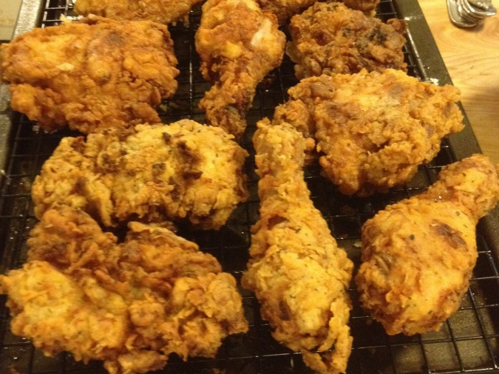 Hairy Bikers Southern Style Chicken Wings Fried And